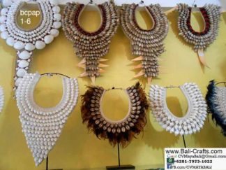 bcpap1-6 Ethnic Accessories Sea Shell Feathers