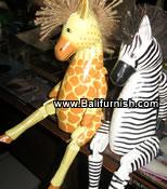 jf7-wooden-giraffe-wooden-zebra-bali