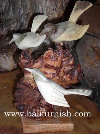 Parasite Wood Carvings