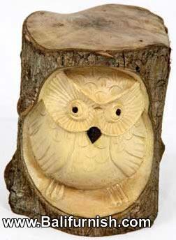 Tree Trunk Wood Carvings