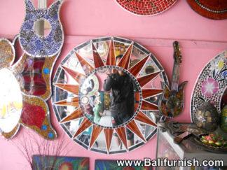 Mosaic Mirror Crafts