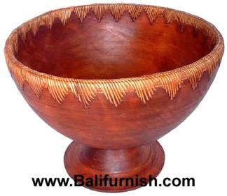 Wood Fruit Bowls