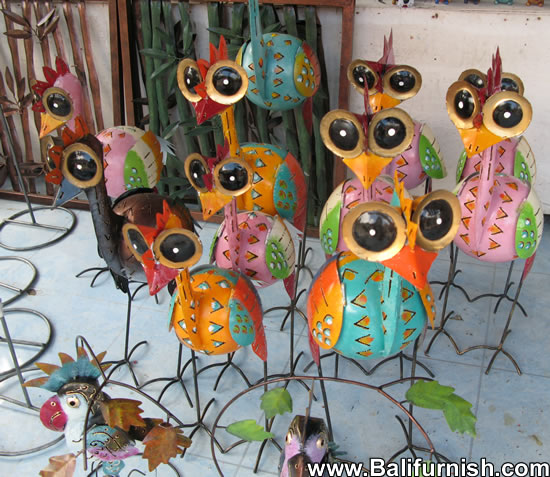 Painted Tin Crafts Bali