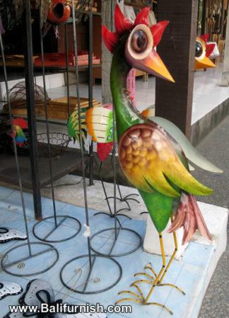 Painted Tin Crafts Bali