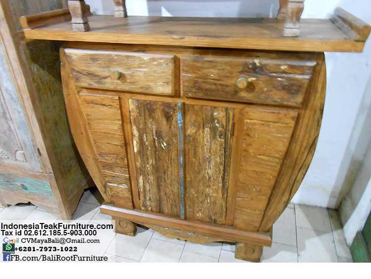 Teak Wood Cabinets Bali