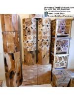 Teak Wood Stools Bali Furniture