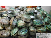 BCSHL1-3 Abalone Shell Trinket Boxes
