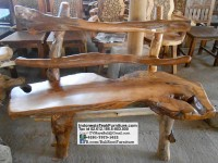 Teak Wood Bench Bali Indonesia