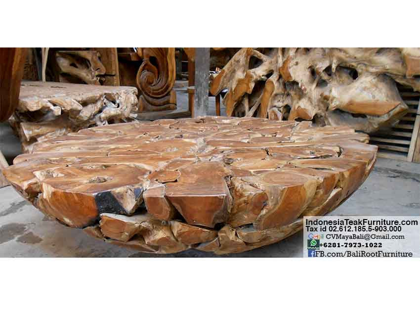 Fantastic tkroot1-3-teak-root-wood-table-furniture – Bali-Crafts.com TV23
