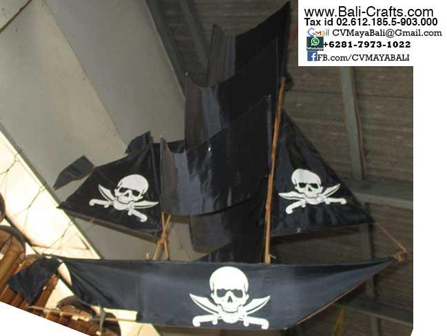 BCKite 2 Pirate Ship Kites Bali Indonesia