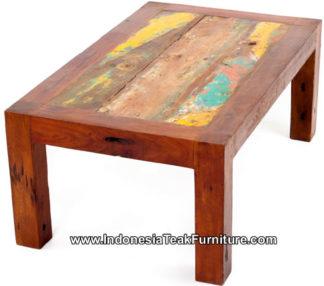 BT1-3 Reclaimed Ship Wood Table